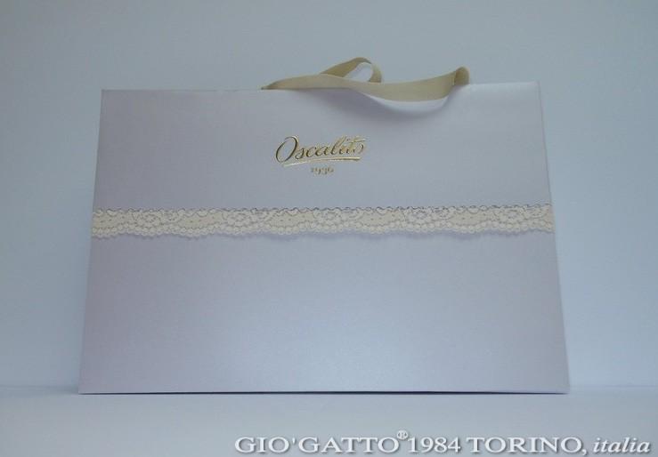 shppper di carta personalizzate + pizzo by Gio'Gatto