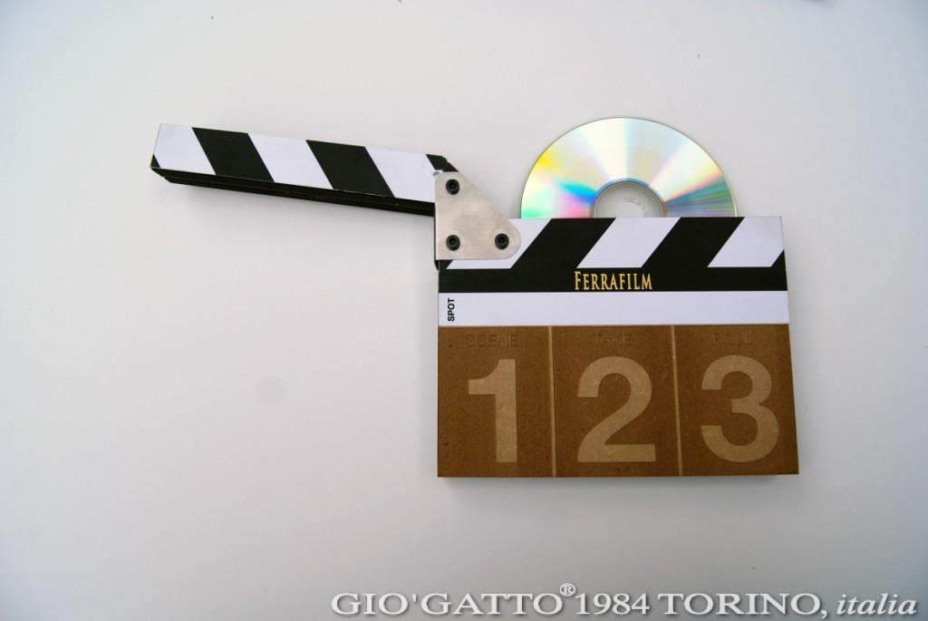 FERRAFILM ciak porta-cd