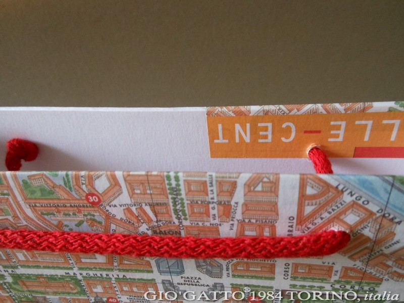TURISMO TORINO paper-bag