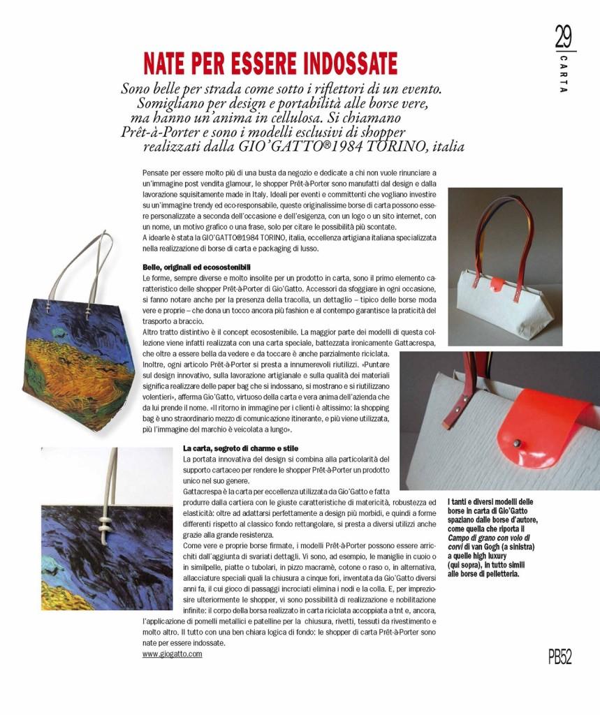 Rassegna Stampa - Print Buyer n.52