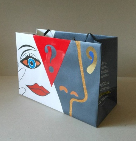 Shopping Bag di Carta Torino by Gio'Gatto