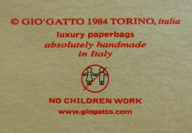 marchio etico contro lavoro minorile