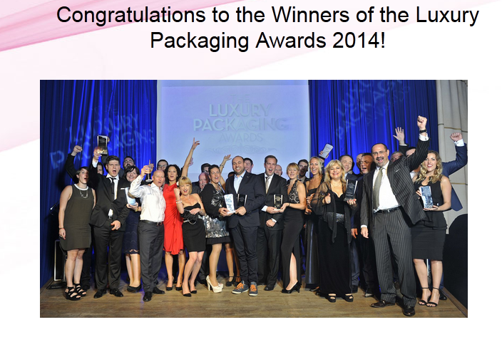 winners Luxury Packaging Awards 2014